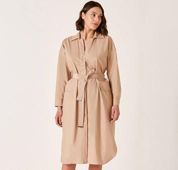 Beige Plus Size London Dresses