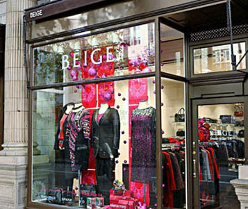 Beige Plus Size London Clothing Stores