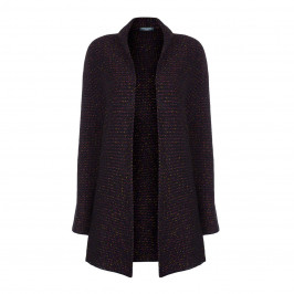 ELENA MIRO KNITTED LUREX CARDIGAN - Plus Size Collection