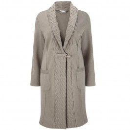 ELENA GRUNERT SHAWL COLLAR COAT - Plus Size Collection
