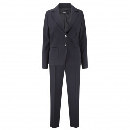 ELENA MIRO NAVY JACKET AND TROUSERS - Plus Size Collection