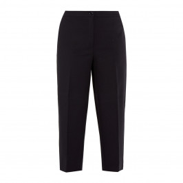 PERSONA BY MARINA RINALDI CROPPED JERSEY TROUSER BLACK - Plus Size Collection