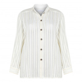 PIAZZA DELLA SCALA COTTON SILK SHIRT WITH OPTIONAL BELT
