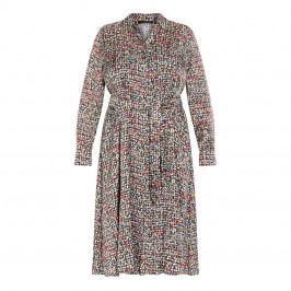 MARINA RINALDI SATIN SHIRT DRESS - Plus Size Collection