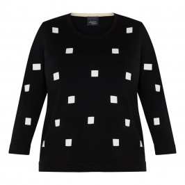 PERSONA BY MARINA RINALDI SWEATER BLACK - Plus Size Collection