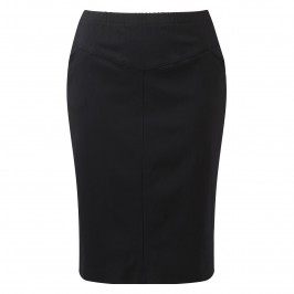 VERPASS NAVY PENCIL SKIRT - Plus Size Collection