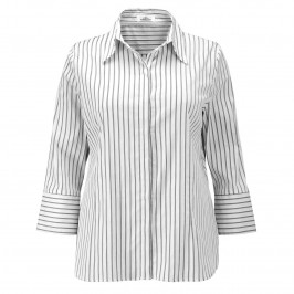 KARIN Black Stripes SHIRT - Plus Size Collection
