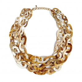 BEIGE label multistrand NECKLACE - Plus Size Collection