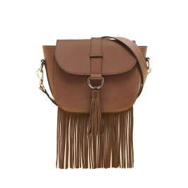 MARINA RINALDI CROSSBODY BAG BROWN - Plus Size Collection