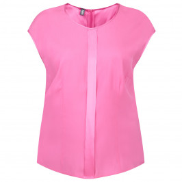 BASLER ORCHID PINK SILK STRETCH TOP - Plus Size Collection