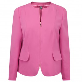 BASLER pink zip-up JACKET - Plus Size Collection