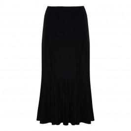 BEIGE LABEL BLACK VELVET MERMAID SKIRT  - Plus Size Collection