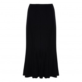 BEIGE LABEL BLACK VELVET MERMAID SKIRT  - Plus Size Collection