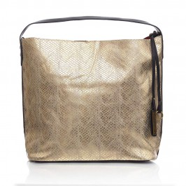 C.L. Gold mock python hobo BAG - Plus Size Collection