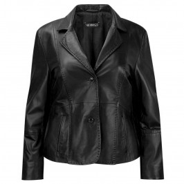 Verpass black leather jacket - Plus Size Collection