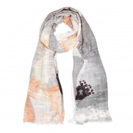 BEIGE label floral SCARF - Plus Size Collection