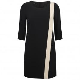 ELENA MIRO black and golden beige DRESS - Plus Size Collection