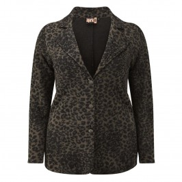 Aprico Animal Print CARDIGAN - Plus Size Collection