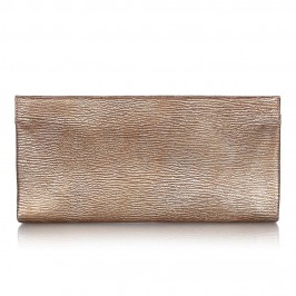 ABRO gold leather CLUTCH - Plus Size Collection