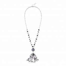 ADELE MARIE NECKLACE WITH TASSEL PENDANT - Plus Size Collection