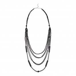 ADELE MARIE MULTI STRAND BEAD NECKLACE - Plus Size Collection