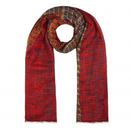 AHMADDY WOOL AND CASHMERE SCARF - Plus Size Collection