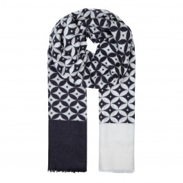 AHMADDY PASHMINA STYLE MONOCHROME SCARF - Plus Size Collection