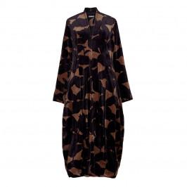 ALEMBIKA VELVET PRINT DRESS - Plus Size Collection