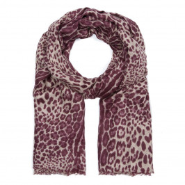 ALEXANDRA SCHMITZ Leopard PRINT SCARF - Plus Size Collection