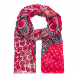 ALEXANDRA SCHMITZ FLORAL PRINT SCARF - Plus Size Collection
