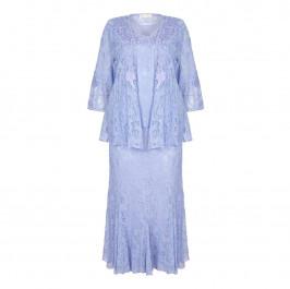 ANN BALON Lilac lace outfit