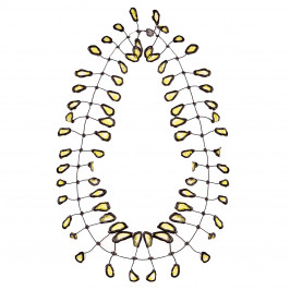Annemieke Broenink lace leaf NECKLACE - Plus Size Collection