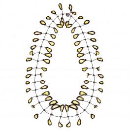 Annemieke Broenink lace leaf NECKLACE - Plus Size Collection