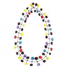 Annemieke Broenink multi poppy NECKLACE - Plus Size Collection