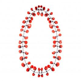 Annemieke Broenink red poppy NECKLACE - Plus Size Collection