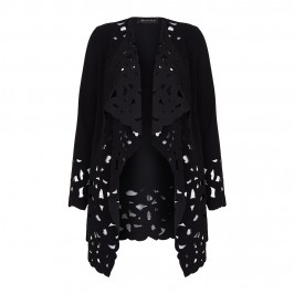 Annikki Karvinen laser cut waterfall JACKET - Plus Size Collection