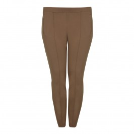APRICO cinnamon FRONT SEAM LEGGINGS