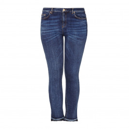 Ashley Graham x Marina Rinaldi ankle grazer jeans - Plus Size Collection