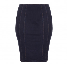 Ashley Graham x Marina Rinaldi denim pencil skirt - Plus Size Collection