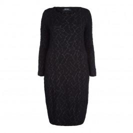 BEIGE LABEL BLACK JERSEY DRESS - Plus Size Collection