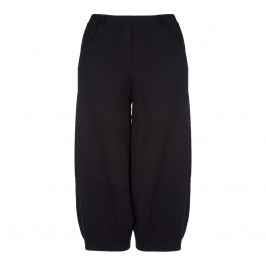 BEIGE LABEL BLACK PULL ON TROUSERS - Plus Size Collection