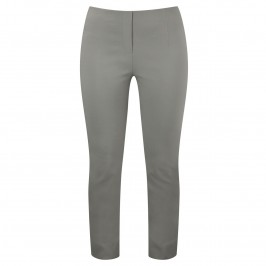 Beige stone beige ankle length trousers - Plus Size Collection
