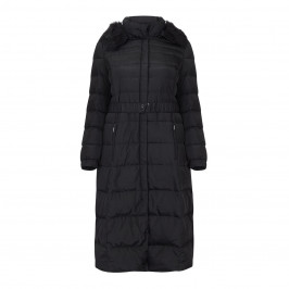 ROF AMO LONG PUFFA COAT WITH OPTIONAL BELT - Plus Size Collection