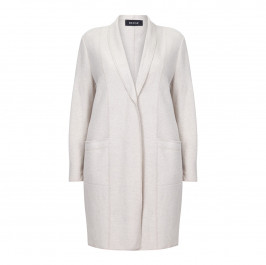 BEIGE LABEL BOILED WOOL JACKET - Plus Size Collection