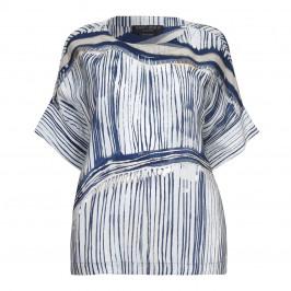 Marina Rinaldi abstract print Tunic - Plus Size Collection