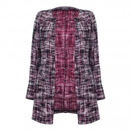 BASLER RED TWEED chanel style JACKET - Plus Size Collection