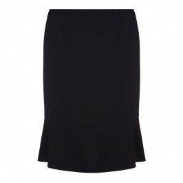 BASLER BLACK TAILORED SKIRT WITH FLARED HEM - Plus Size Collection