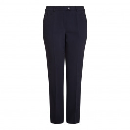 BASLER navy Diana shape TROUSERS - Plus Size Collection