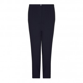BASLER NAVY STRAIGHT LEG TAILORED TROUSERS - Plus Size Collection