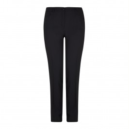 Basler navy pure wool suiting trousers - Plus Size Collection